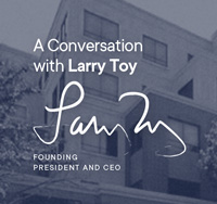 A Conversation with Larry Toy graphic