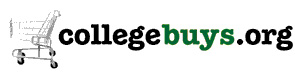 A previous iteration of the CollegeBuys logo.