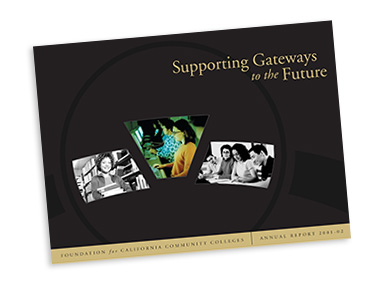 The Foundation's annual report from 2002: Supporting Gateways to the Future.