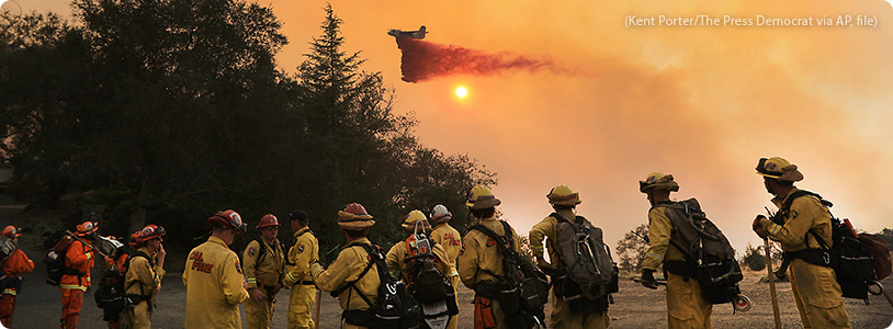 California Wildfire Relief banner