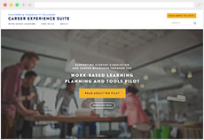 Career Experience Suite website thumb